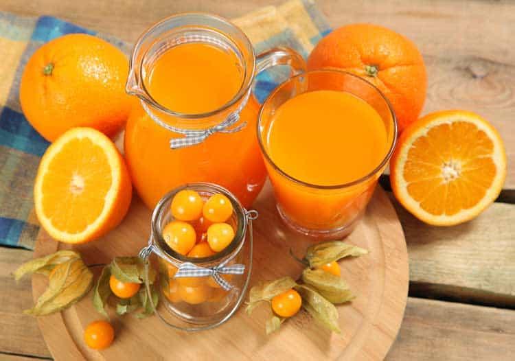 how many oranges to make orange juice