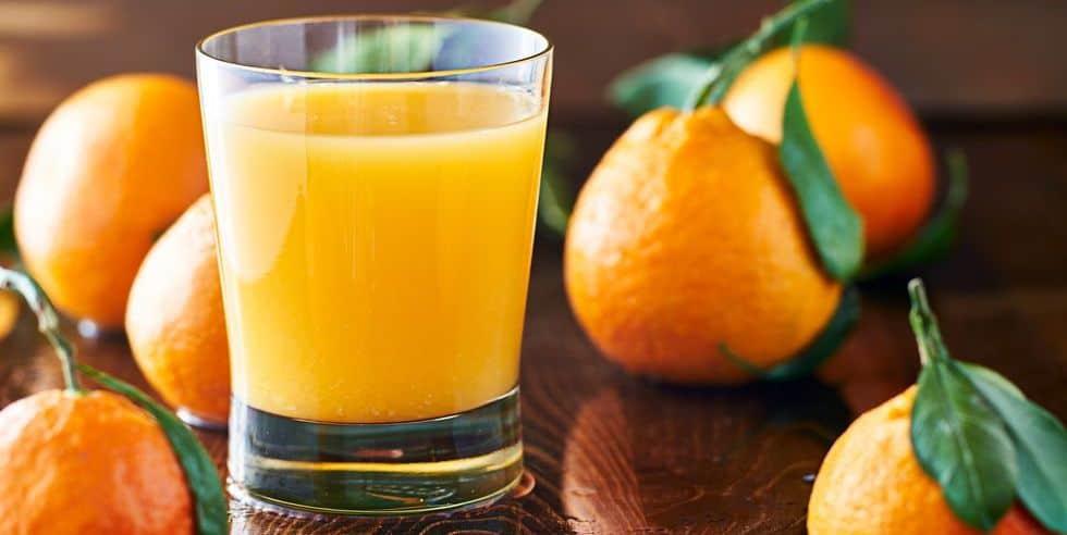 why does orange juice make me poop