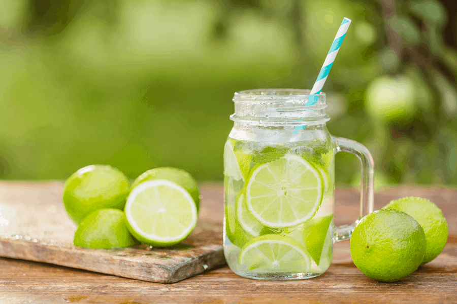 how many carbs in lime juice