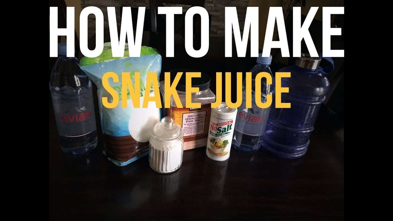 how to make snake juice