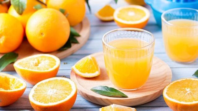 how acidic is orange juice