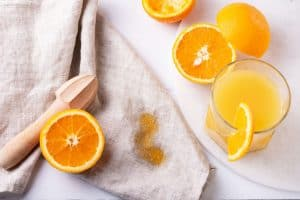 how long can orange juice be left out