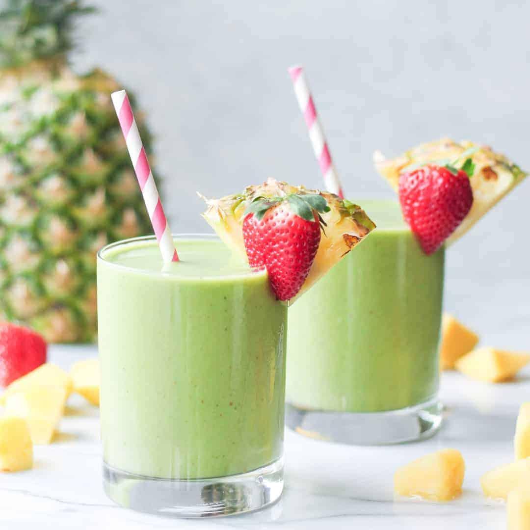 tropical smoothie detox island green recipe